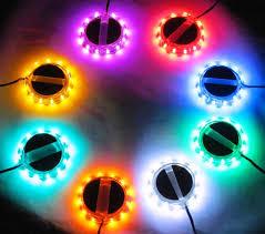 led wheelz single color motorcycle rim led accent lights