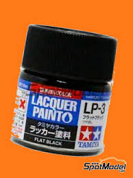 Tamiya Lacquer Paint Chart Flat Black Lp 3 1 X 10ml Lacquer Paint Manufactured By Tamiya Ref Tam82103 Also 82103
