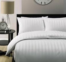 5 star hotel quality 2cm stripe luxury quilt duvet cover set hotel collection bedding