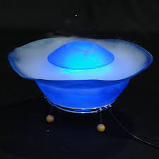 Water Lamps 12 Led Multimode Mist Maker Humidifier Water Fountain Tabletop