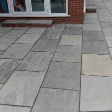 how to clean natural stone paving slabs