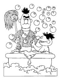 Sesamstraat Kleurplaten Ernie En Bert