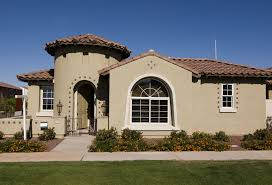 painting exterior house with ladders and painters scottsdale house painting exterior painting services