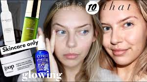 how to look good without makeup non toxic green skincare routine