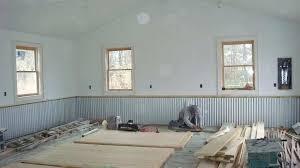 corrugated metal wainscoting trim home plan ideas home gym ideas