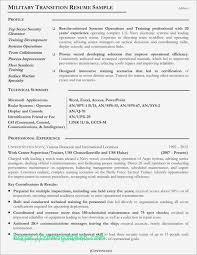 Military Resume To Civilian Sample Resume Templates Resume Templates
