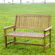 Small Picture HRH Designs Wood Garden Bench Reviews Wayfair