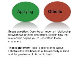 shakespeare s othello essay help 5 applying othello bull essay question