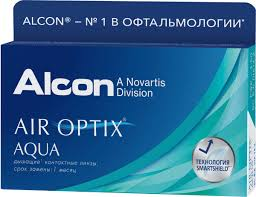 """<b>Контактные линзы Alcon</b> """"Air Optix Aqua"""" <b>Ежемесячные</b>, -2.50 ..."""