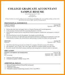 College Graduate Resume Sample Classy Resume Template For Recent College Graduate Recent Graduate Resume