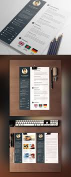 Brilliant Ideas Of Cv Resume Psd Template And Mockup Cute Designer