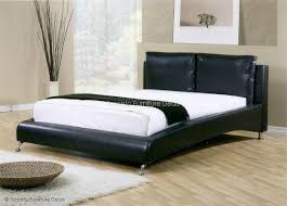 furniture deals. leather-look bed with slats furniture deals