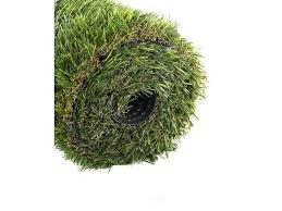 golden moon series indoor outdoor green decorative synthetic artificial grass turf area rug planter