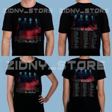 Mens And Womens Shirt Size Chart New Disturbed T Shirt Evolution Tour 2019 Dates Mens Womens