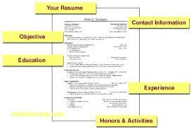 Simple Resume Samples Easy Simple Resume Template Beautiful Examples