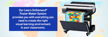 School Poster Maker Learn Ondemand Color Printer Presentation Systems South