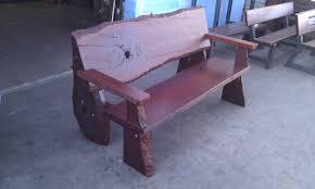 rustic furniture perth. natural timber bench tree seat indoor furniture rustic perth a