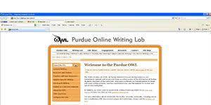 Purdue Owl Purdue Owl Tutoring Website Review