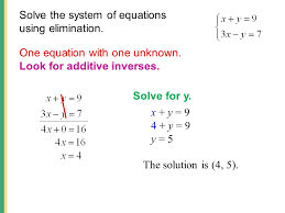 solve systems of linear 2 x