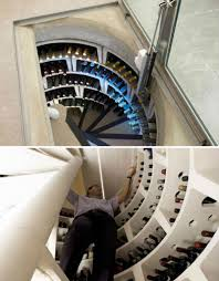 Wine Cellar In Kitchen Floor He Put A Surprise Window In His Kitchen Floor The Reason Is So