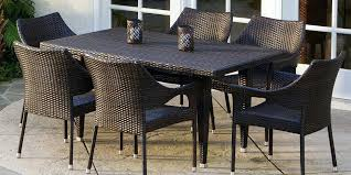 patio table chairs sets extraordinary outdoor chair set 6 glass and new dazzling awesome