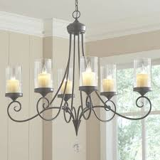 faux pillar candle chandelier wayfair intended for faux candle chandelier view 24 of 45