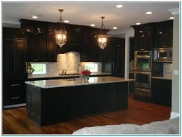 dark stained kitchen cabinets. Plain Dark Restain Kitchen Cabinets Darker Staining Light Dark  Pertaining To In Dark Stained Kitchen Cabinets K