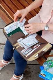all in one leather book clutch