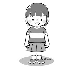 女の子のイラストカラー 子供と動物のイラスト屋さん わたなべふみ