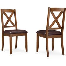 better homes gardens maddox crossing dining chair set of 2 brown walmart