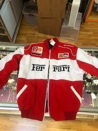 Michael S Ferrari Racing Jacket Found At A 2nd Hand Store Formula1