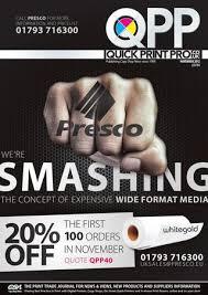 Quick Print <b>Pro</b> November 2012 by The Magazine Production ...
