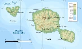 file tahiti and moorea topographic map svg wikimedia commons Where Is Tahiti On The Map Where Is Tahiti On The Map #22 tahiti on map