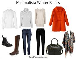 Minimalist Packing List For Winter (Cold Weather) Travels