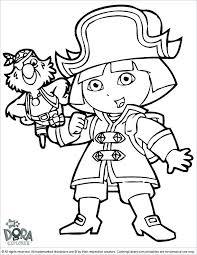 Dora The Explorer Coloring Pages Pdf Dora The Explorer Coloring
