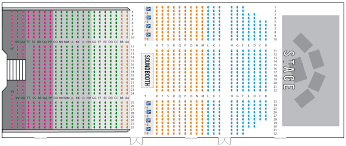 Seating Charts Blue Gate Theatre Shipshewana In