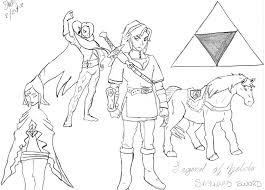 Dessin Zelda