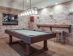 pool table chandelier