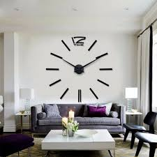 Decorative Wall Clocks For Living Room Idea