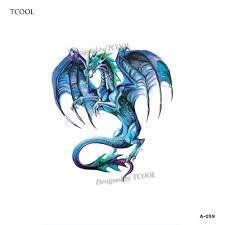 Tcool Fox Dočasné Tetování štítek Tetování Pro Vodotěsné ženy Móda