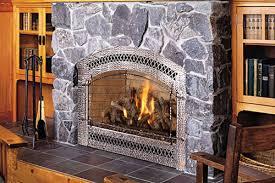 custom fireplace glass doors