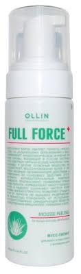 OLLIN Professional Full Force Мусс-<b>пилинг для волос</b> и кожи ...