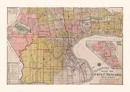 newark nj map vintage new jersey map, n y c map, antique home Map Cas newark nj map vintage new jersey map n y c by encoreprintsociety map case