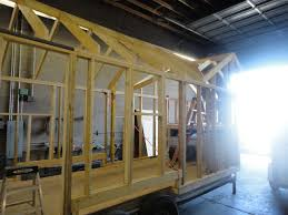Small Picture Tiny House Progress roof framing and exterior wall sheeting