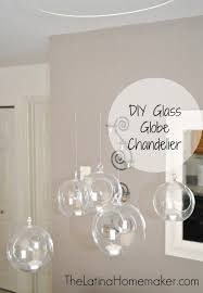 diy glass globe chandelier 1 jpg