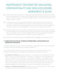 Contractor Confidentiality Agreements Best Construction Contractor Contract Template Construction Contract