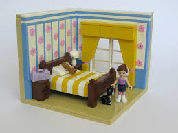 Lego Bedroom Wallpaper My Favourite Room This Is My Build For The Friends Bricks Flickr