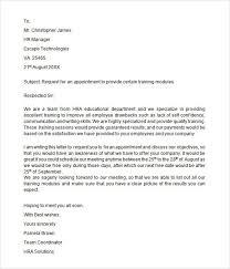Job Appointment Letter Format Resume Pdf Download