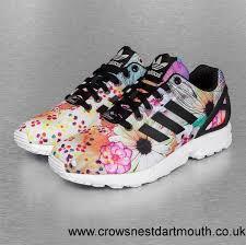 adidas shoes 2017. 2017 women / men uk adidas shoe sneakers zx flux in black 222090 shoes u