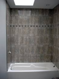 photograph of how to install a tub surround